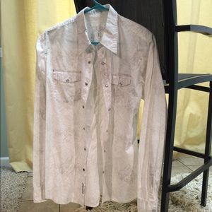 Guess Men's Causal Dress Shirt.
